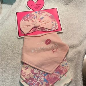 NWT Betsey Johnson bobs and hat